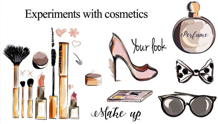 Experiments with Cosmetics